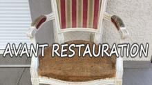 Restauration de fauteuil par votre artisan tapissier du Rhone 69 J. Schied