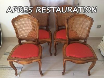 Restauration_de_Chaises_cannées_Apres_réfection_par_rembourage_et_ajout_d'assise_en_tissus.JPG