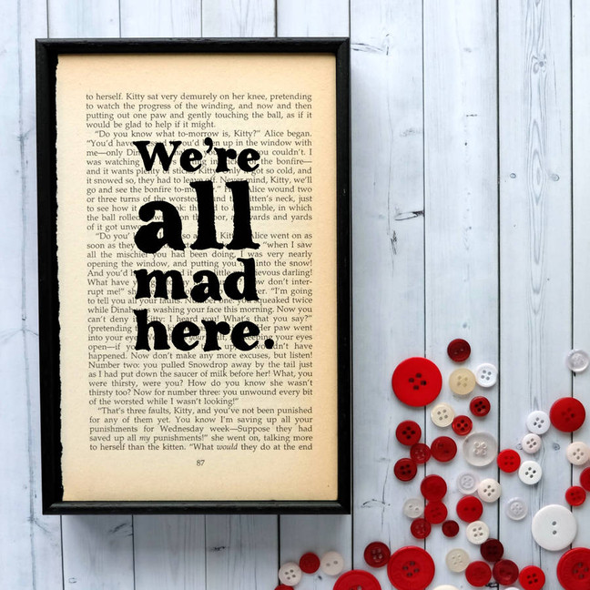 We're all mad print
