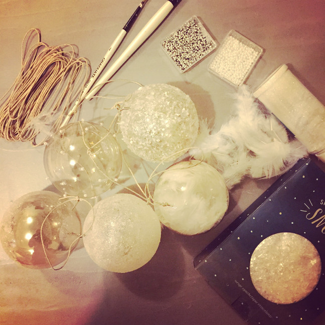 Homemade baubles