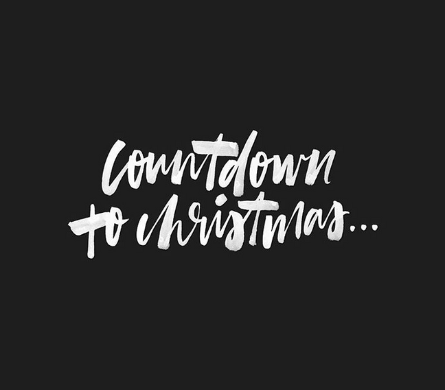 The countdown....