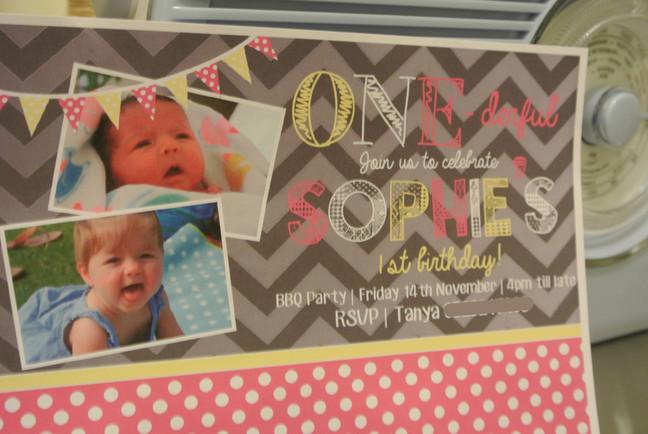 ONE-derful! 1st Birthday invites