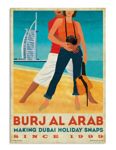 Dubai retro prints