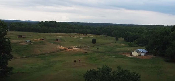 Pastures, horses, riding trails at Still Water Farm - Horse Ranch