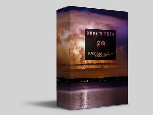 DARK NIGHTS - 20 Moody and Dark Melody Samples