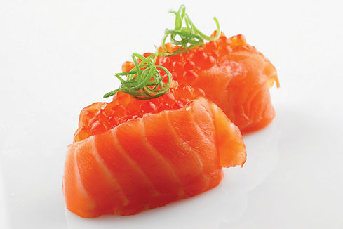 dorade au caviar de saumon