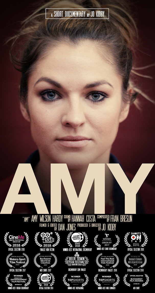 Amy Wilson Hardy documentary film poster