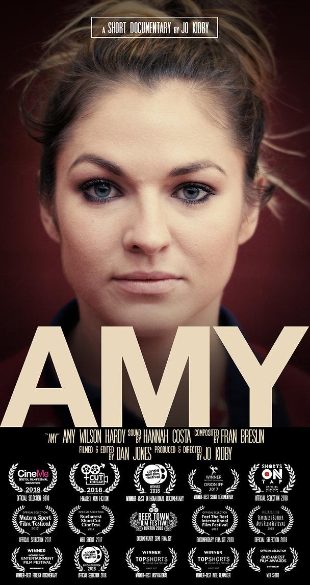 Amy Wilson Hardy documentary film poster