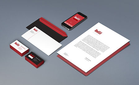 Logo and stationery design for engineering company