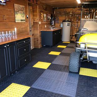 Matting Makes Garage Dreams Come True