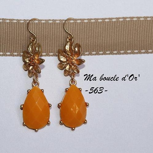 Boucles n°563 (plusieurs coloris disponibles)