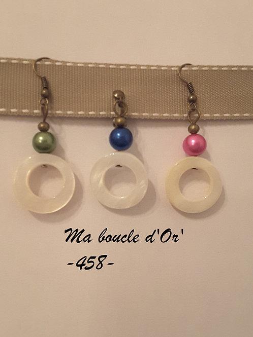 Boucles n°458 (plusieurs coloris disponibles)
