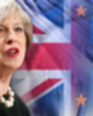 Theresa-May-and-money-around-city-of-Lon