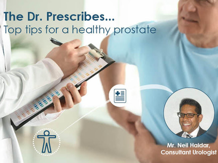 Top Tips for healthy prostrate