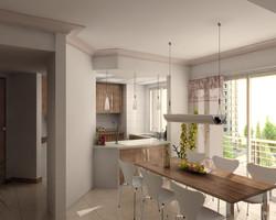 2-bedroom-type4-wohnküche-01