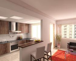 2-bedroom-type2-wohnküche-01