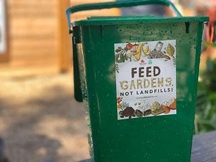 Truckee compost bin, Slow Food Lake Tahoe in Truckee, CA