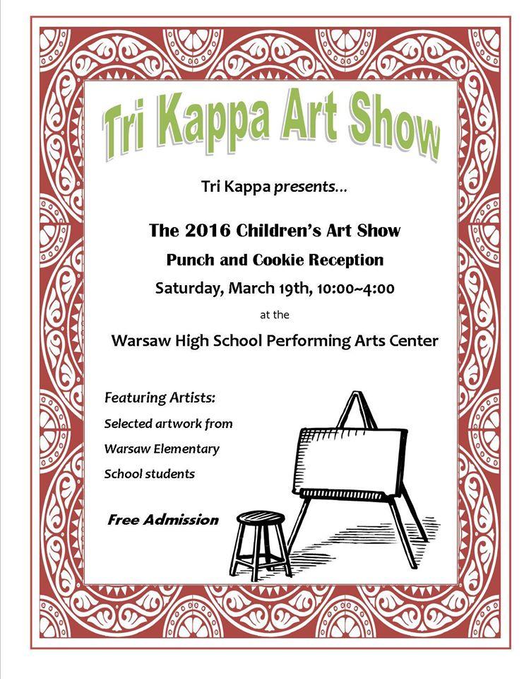 Tri Kappa Art Show 2016