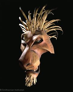 Julie Taymor- Lion King Prototype Mask ©