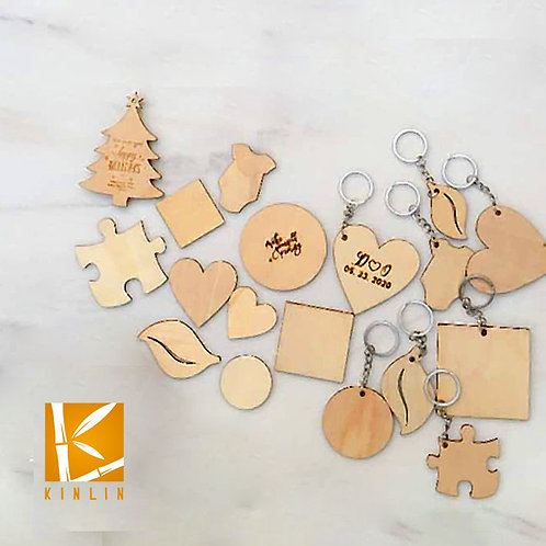 1.5 Inch Wood Magnets/ Keychain