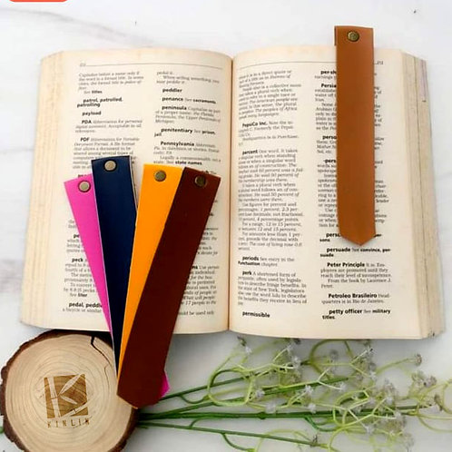 Leather Clip Bookmark