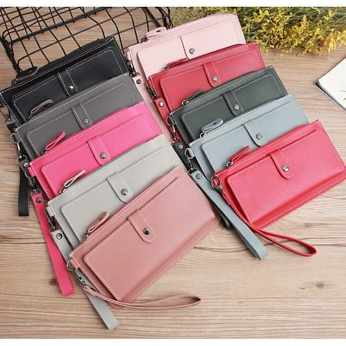 Fashion Leather Lady Wallet