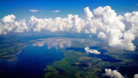 Luftaufnahme der Inseln
