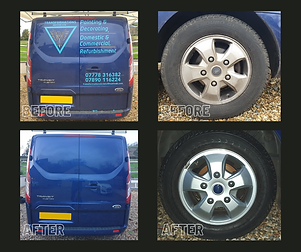 Ford Transit Custom Before & After