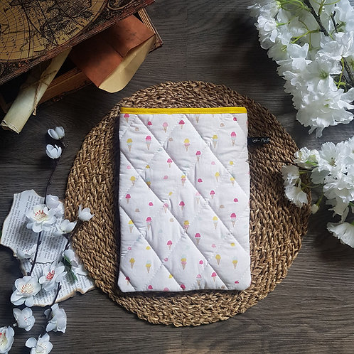 """Pochette pour livre """"Ice Cream"""""""