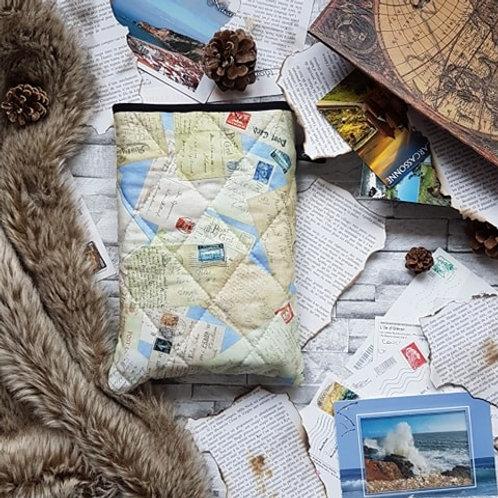 """Pochette pour livre """"Post Card"""""""