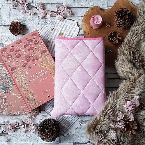 """Pochette pour livre """"Pink power"""""""