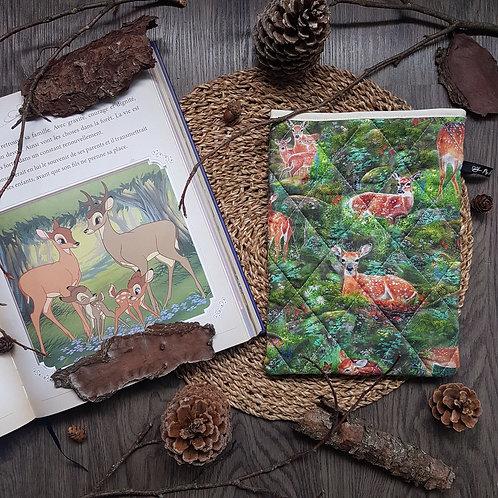"Pochette pour livre ""Bambi"""