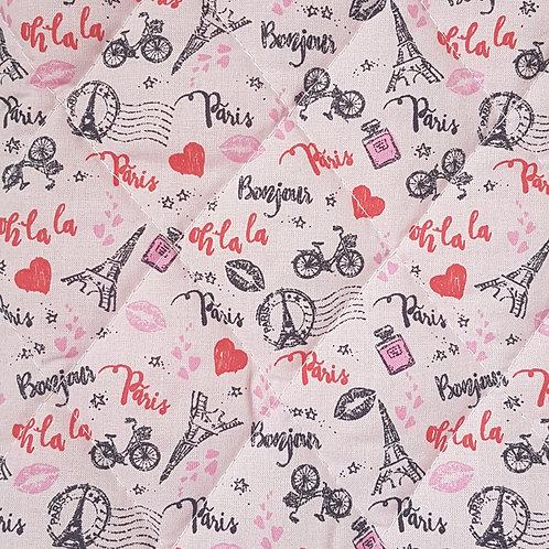 """Pochette pour livre """"Parisienne"""""""