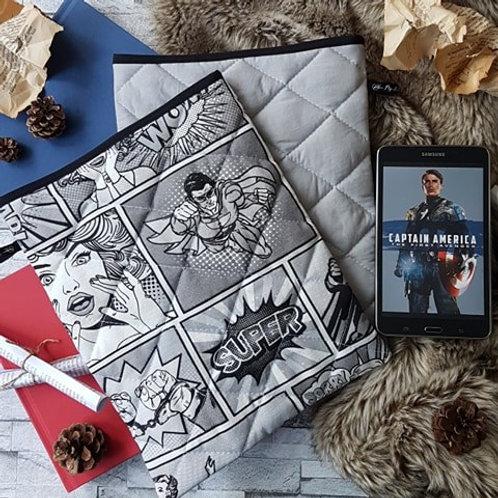 """Pochette pour livre """"Super héro"""""""