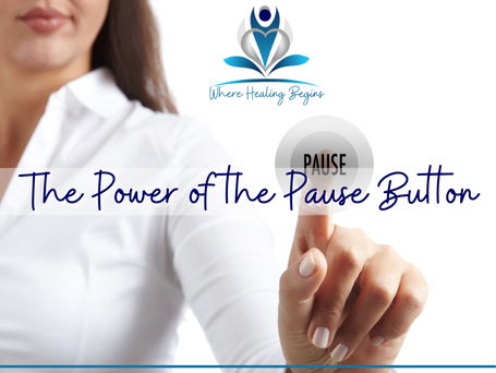 """The Power of the """"Pause"""" Button"""