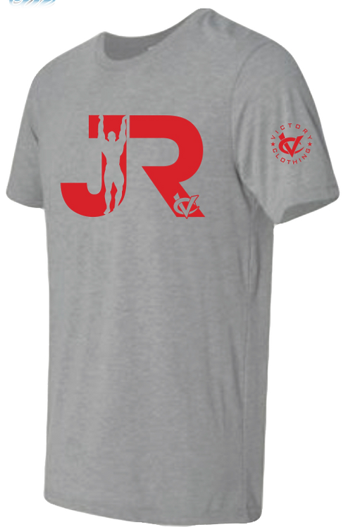 JR Cement Grey & Red Tee