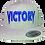 Thumbnail: Grey & Blue Victory Snapback