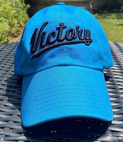 Blue & Black Classic Dad's Cap