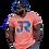 Thumbnail: JR Orange & Blue Tee