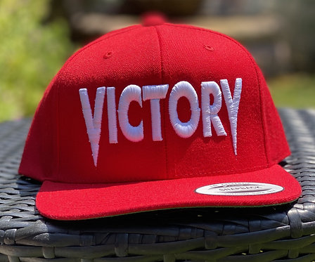 Red & White Victory Snapback