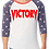 Thumbnail: VICTORY 3/4 Stars Baseball Tee