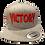 Thumbnail: Grey & Red VICTORY Snapback