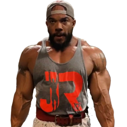 JR Grey & Red Tank