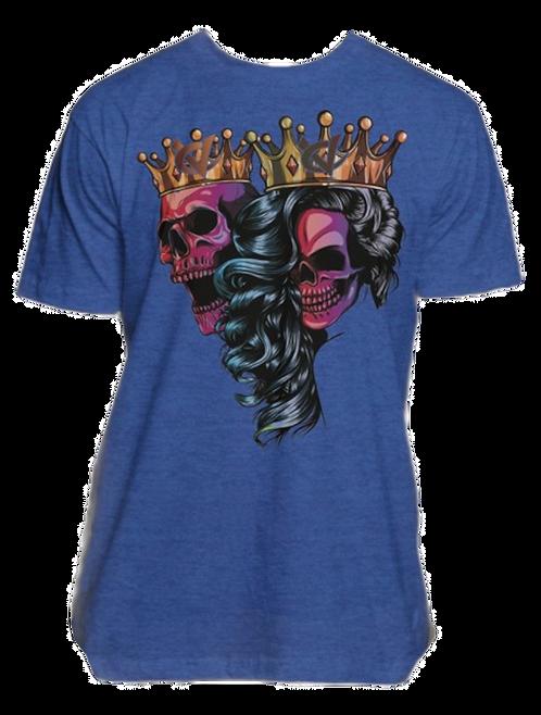 King & Queen Skull Tee