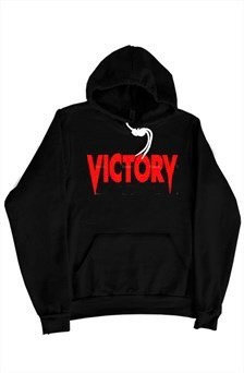 Victory Red & Black Pullover Hoodie