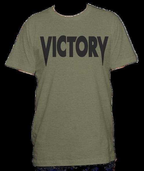 Olive Green & Black Victory Tee