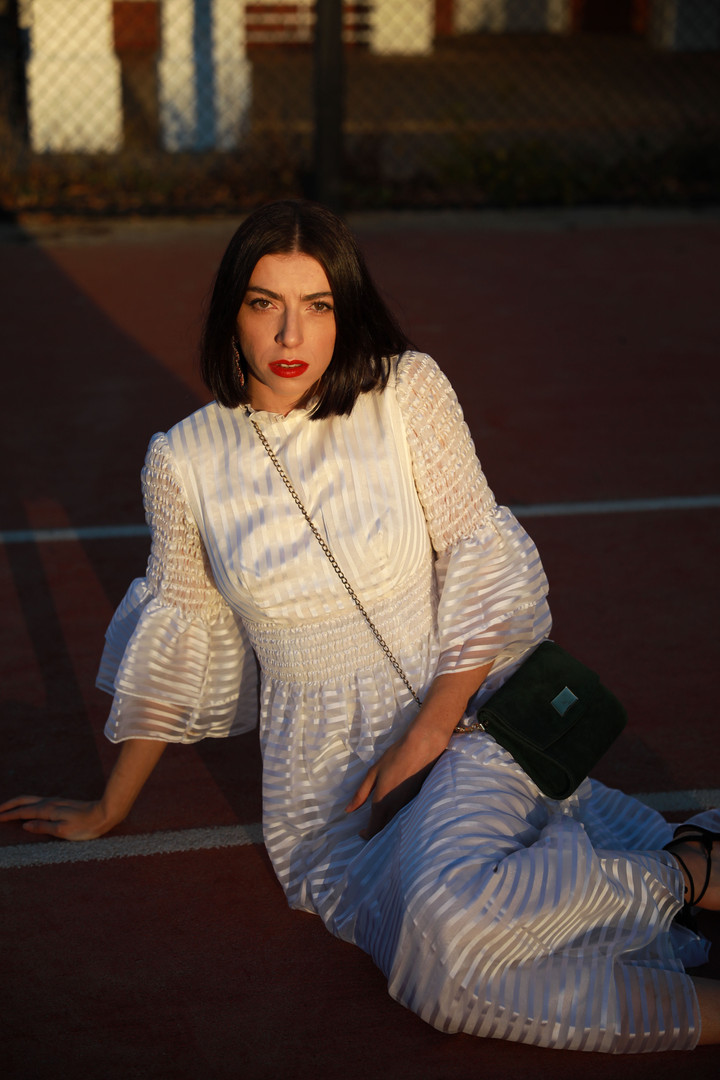 Tennis court fashion