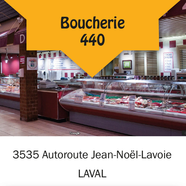 Boucherie 440