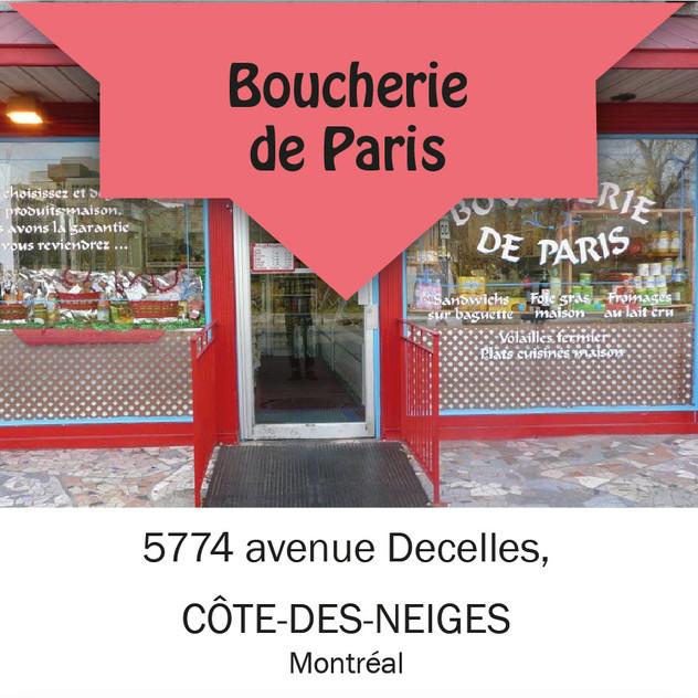 Boucherie de Paris