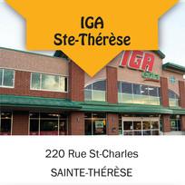 IGA Sainte-Therese